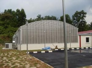 UPM greenhouse